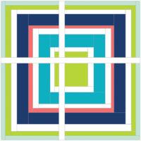 Summer Blog Hopping by Helen Coulter ofMidget Gem Quilts