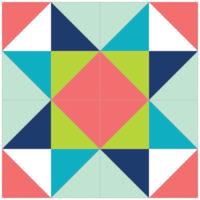 Double Diamond Star by Lisa Jones of Sunlight in Winter Quilts