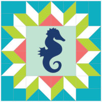 Seahorse Star by Robyn Miller of Hoops & Thimbles