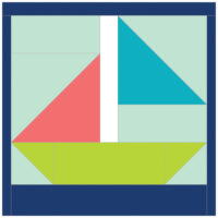 Sailboat Summer by Jinger Snapp-Laplace ofTrials of a Newbie Quilter