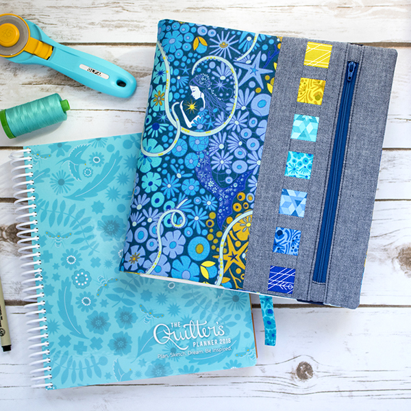 free zippy quilter u0026 39 s planner cover pdf pattern