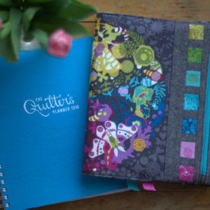 Riot of Color Quilter's Planner Cover Panel Pattern