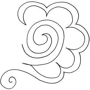Feathered Swirl