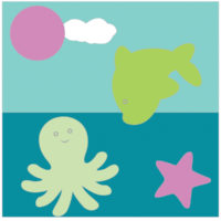 Ocean Fun By Jinger Snapp-Laplace of Trials of a Newbie Quilter