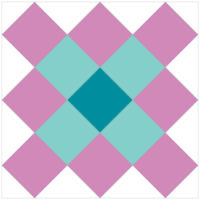 Granny Squares, tutorial by Shelley Folkerts of The Carpenter's Daughter Who Quilts