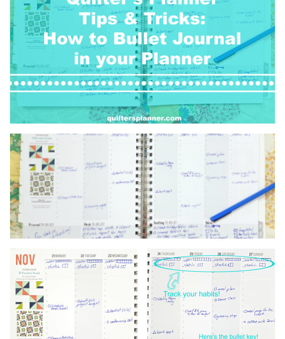 How to Bullet Journal in Your Planner