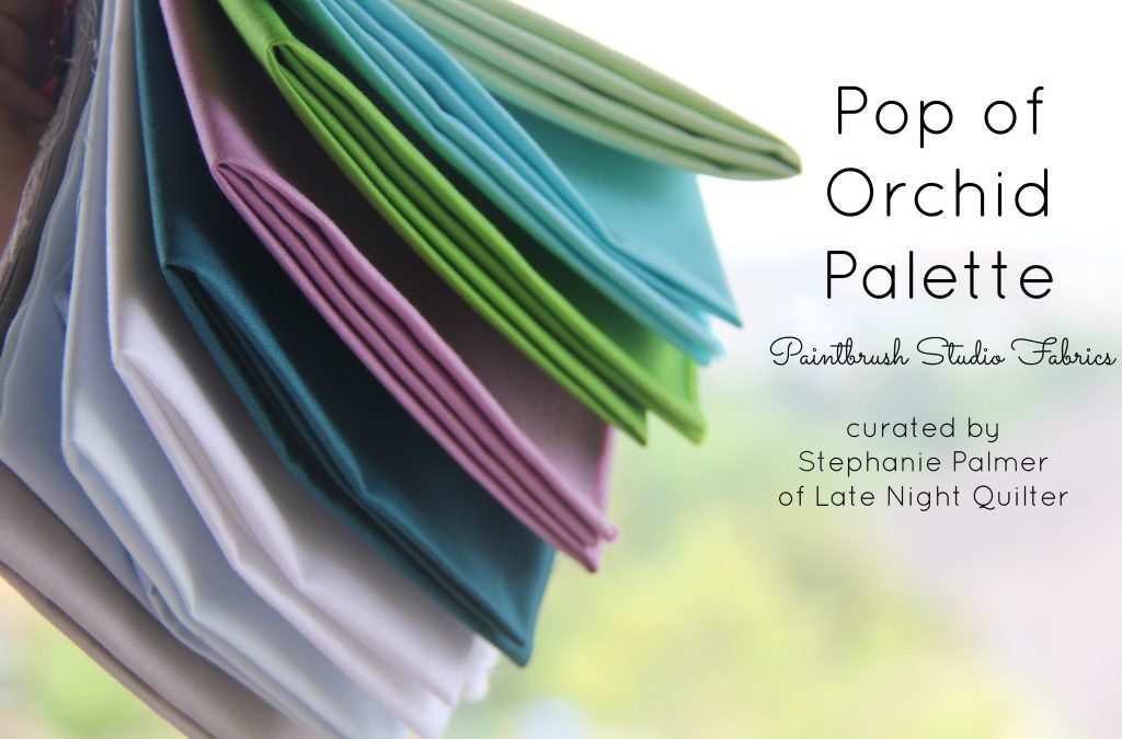 Fabric Palette for The Quilter's Planner 2017