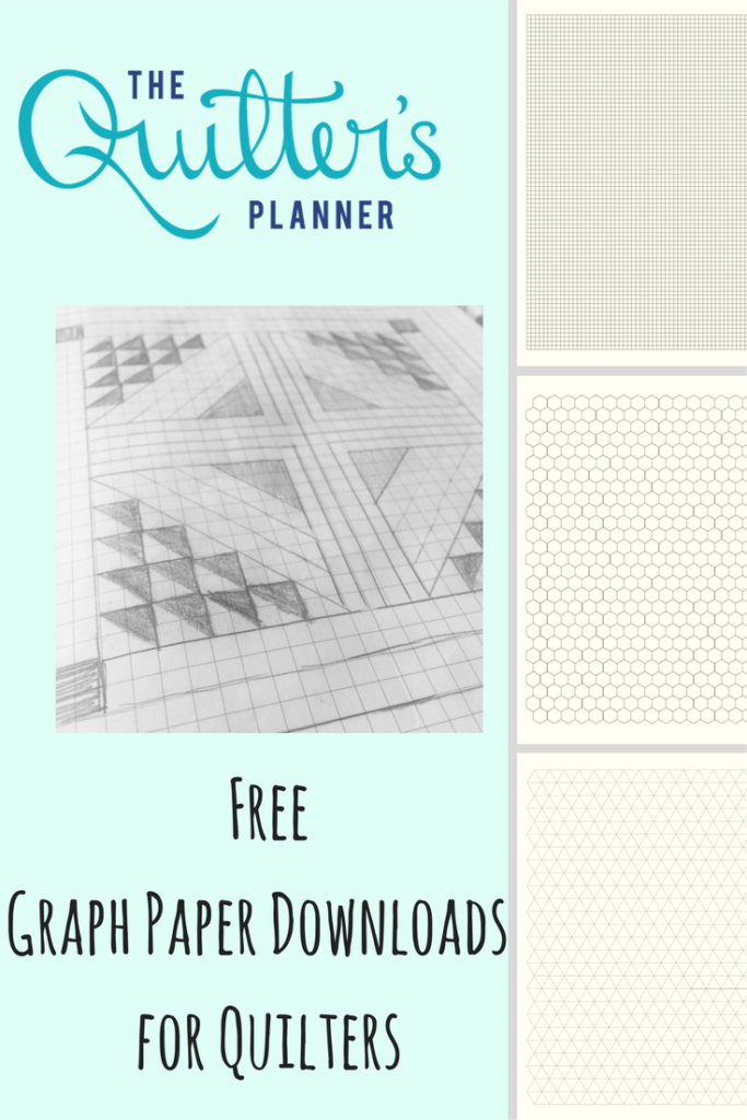 Graph Paper for Quilters: Free Downloads for You! | The ...