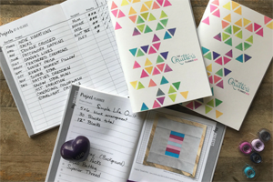 How to Use the Mini Quilter's Planner