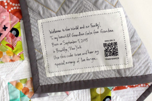 How to Label your Quilt (and Why We Should)