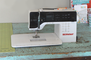 DIY Drop-In Sewing Table Hack