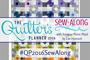 Join us for the Quilter's Planner 2016 Sew-Along!