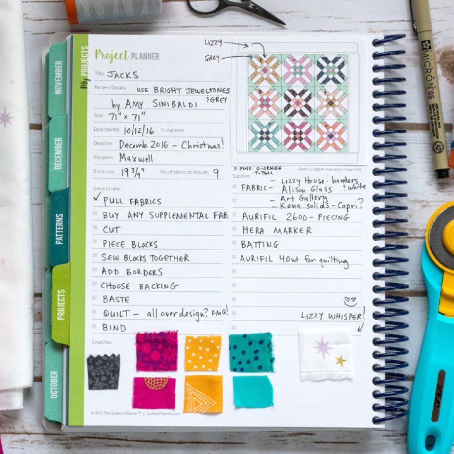 2018 Quilter S Planner The Quilter S Planner