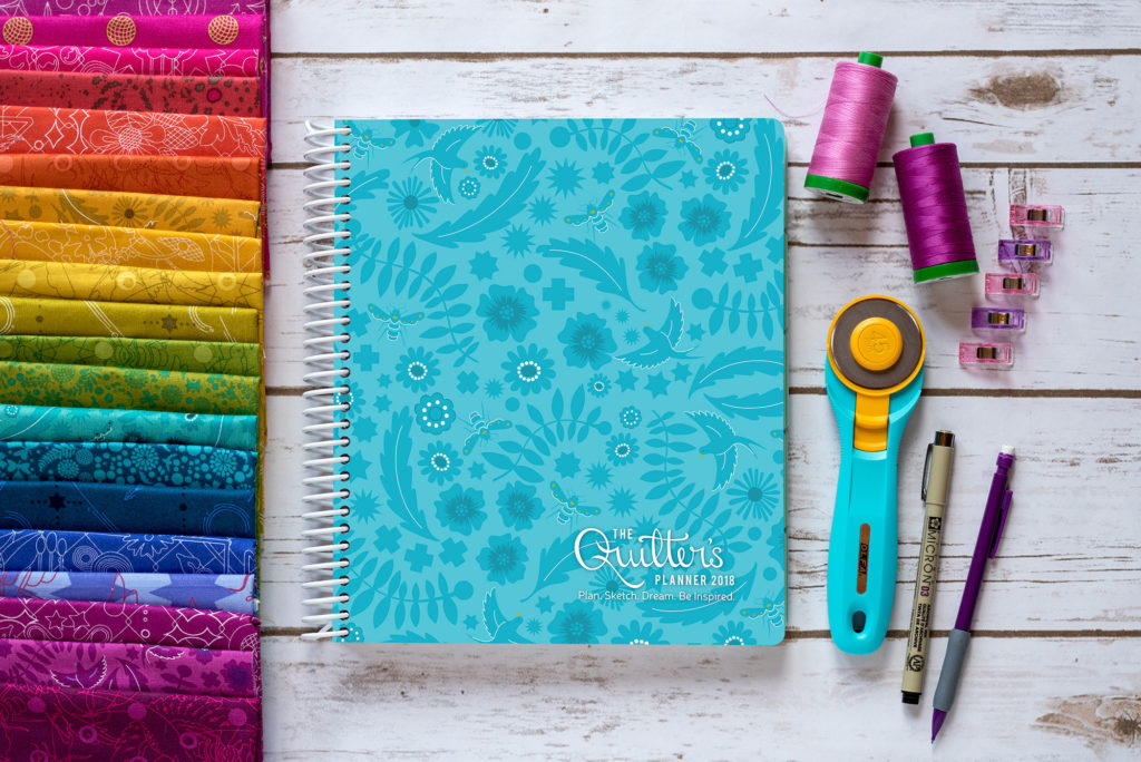 Image result for The 2018 Quilter's Day Planner & Mini Planner