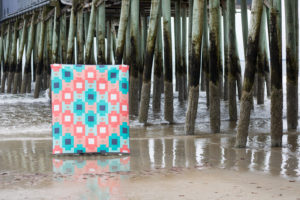 Heirloom by Sarah Thomas and Nicole Young of Sariella for the 2018 Quilter's Planner