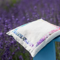 Diane's Lavender Sachet by Justin Stafford of Keaton for the 2018 Quilter's Planner