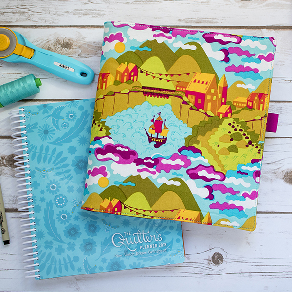 Free pattern: 45-Minute Planner Cover