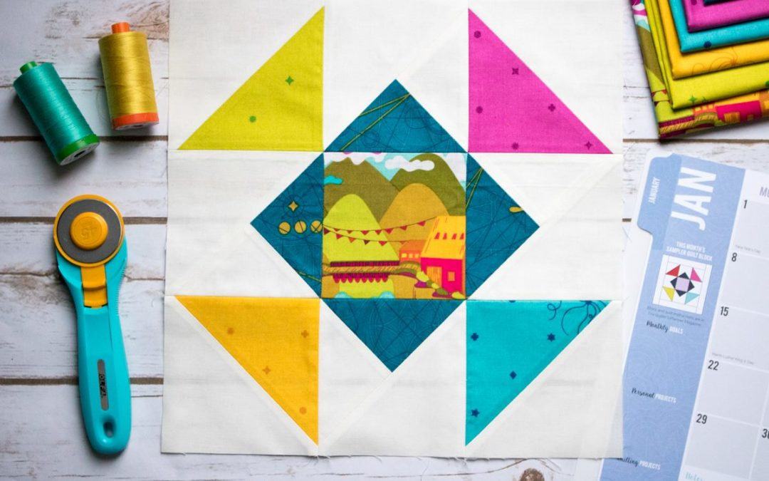 2018 Quilt Block of the Month – January Sewing Tips and Tricks (Part II)