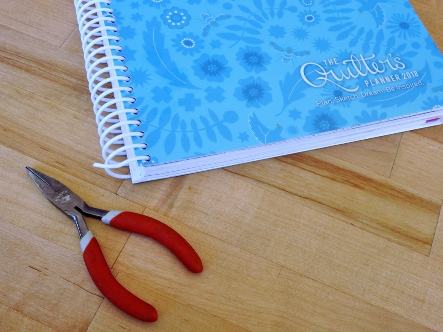 Spiral Binding that's Coming Uncrimped