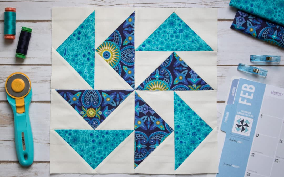 2018 Quilt Block of the Month – February Flying Geese Sewing Tips and Tricks