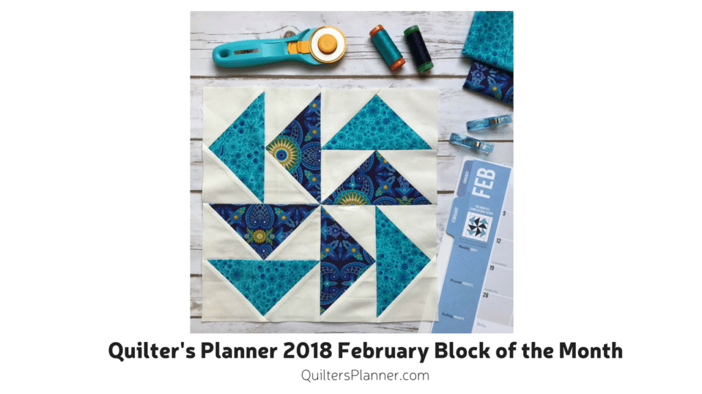 2018 Quilt Block Of The Month February Flying Geese