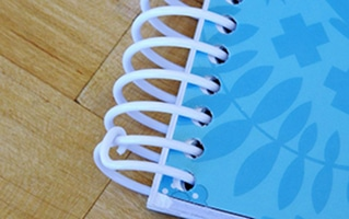 Taking Care of Your Spiral:  How to Keep a Spiral Binding from Unwinding