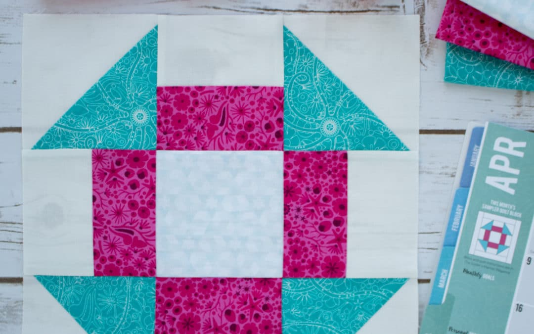 How to Sew the Churn Dash Block: April 2018 Block of the Month