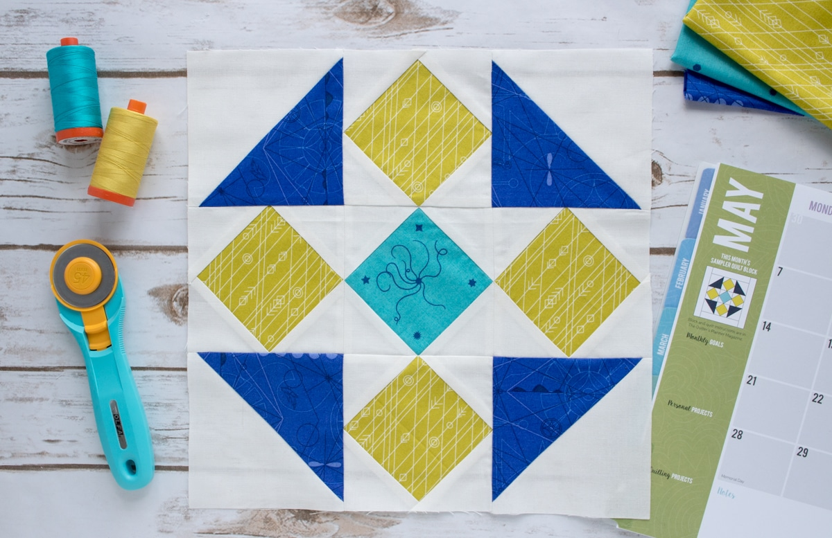 How To Paper Piece Foundation Paper Piecing Template Tutorial And Video The Quilter S Planner