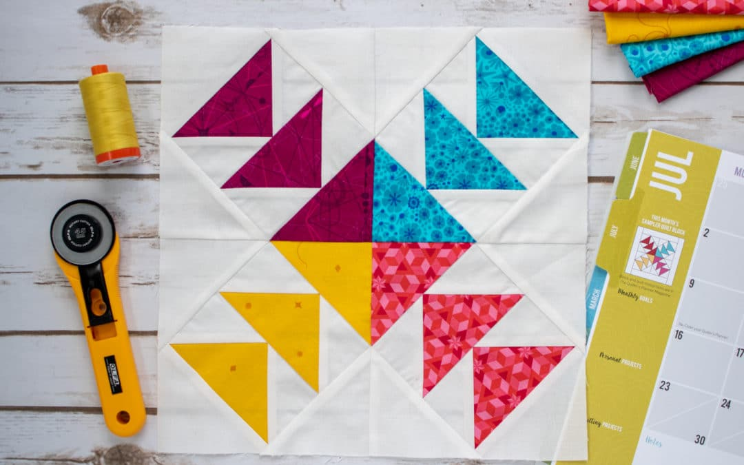 July 2018 Block of the Month Hints and Tips