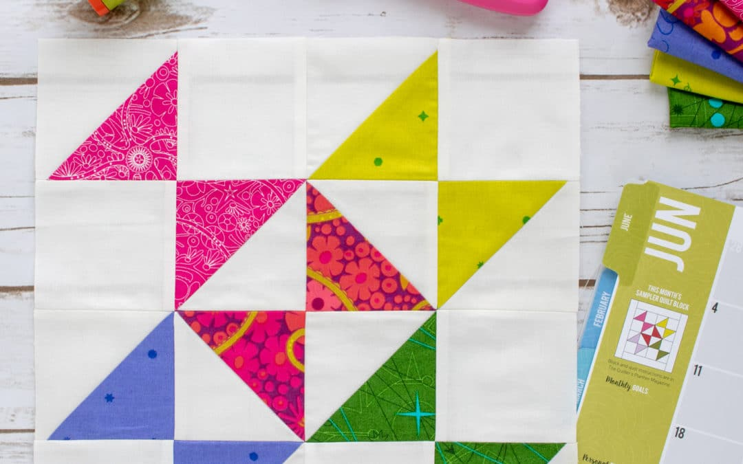 June 2018 Block of the Month Pattern Tips