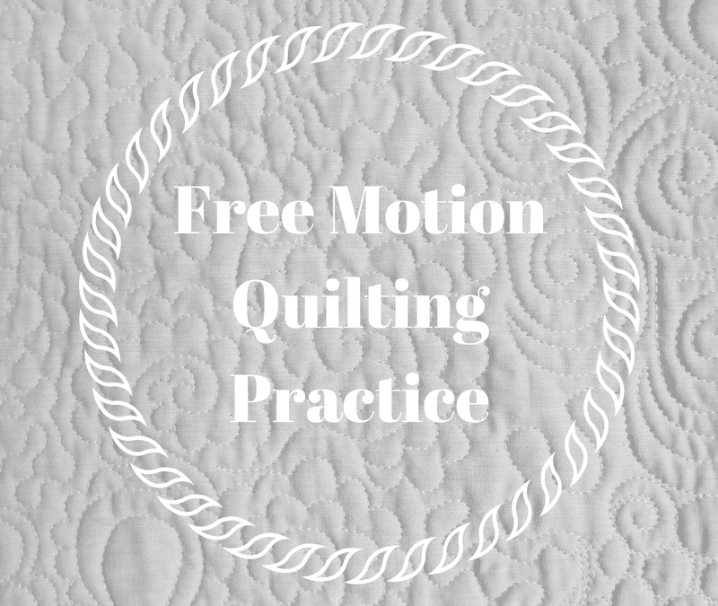 Free Motion Quilting Practice