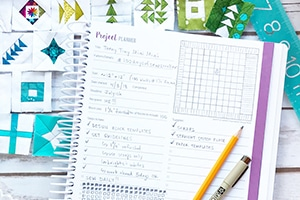 10 Ways to Use the Quilter's Planner