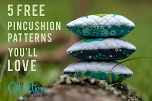5 Free Pincushion Patterns You'll Love