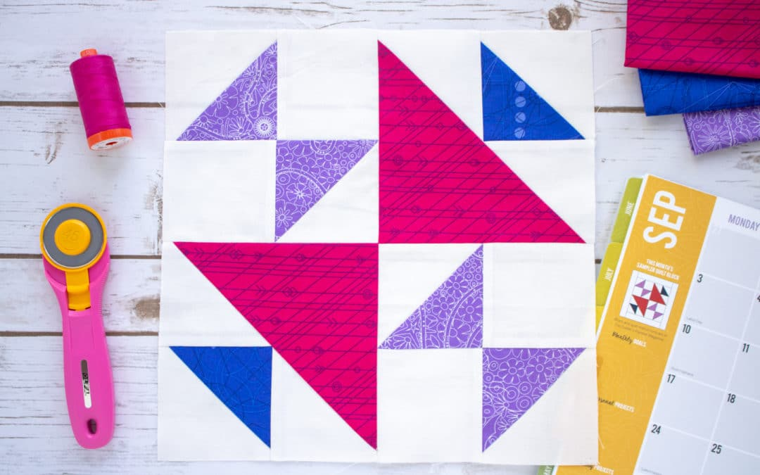September 2018 Block of the Month Pattern Tips