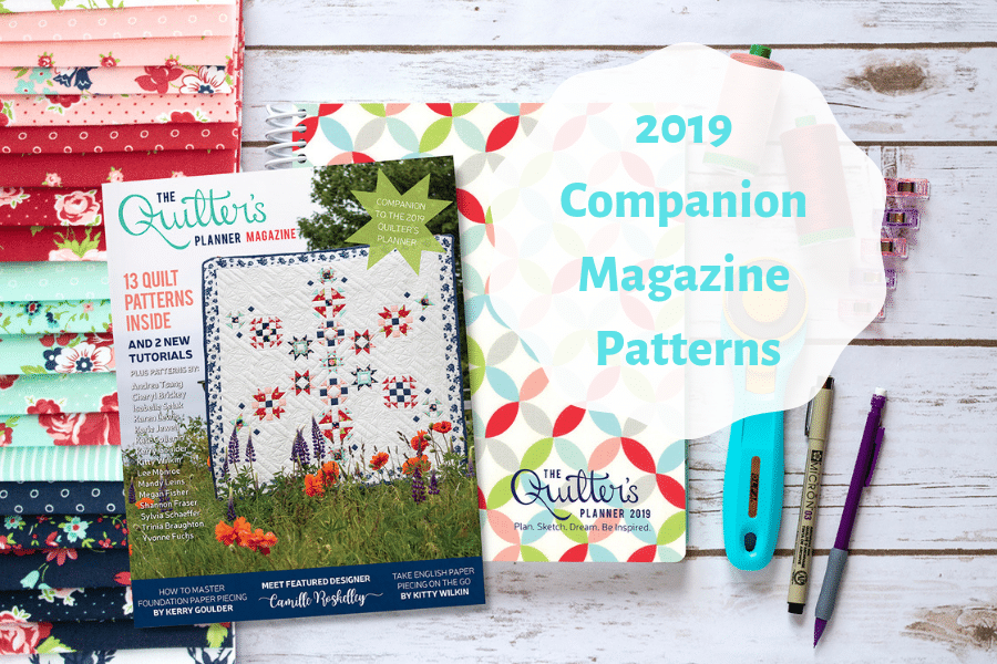 2019 Companion Magazine Patterns