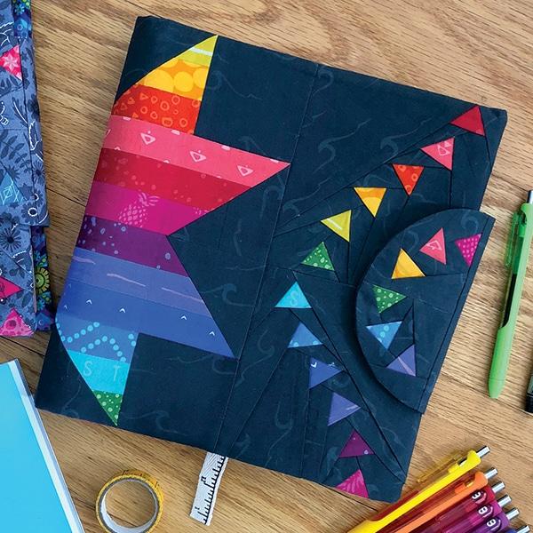Free pattern: Star Blazer Planner Cover PDF Pattern